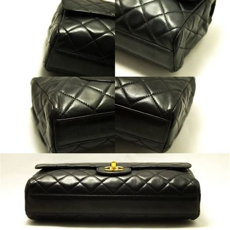 Chanel Quilted Clutch Bag by Chanel Timeless Clutch Bag Leather Black Flap Quilted
