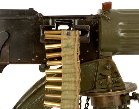 vickers machine gun football    world war