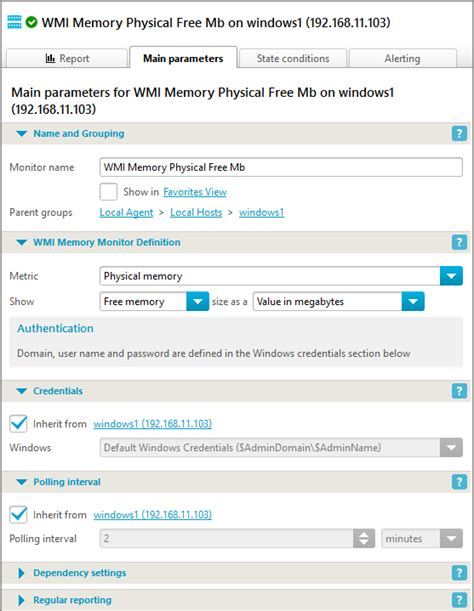 check ram usage check ram usage wmi iphost network monitor