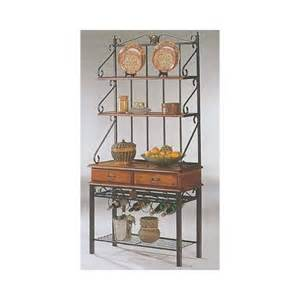 Oak Bakers Rack Bakers Rack In Oak Finish Coaster 5424