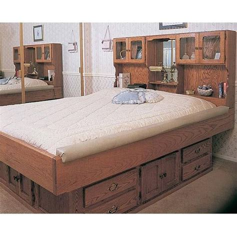 waterbed bed frame waterbed frame plan no 756 bed frame ideas