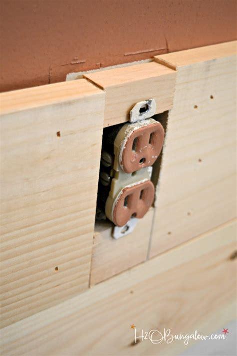 DIY Shiplap vs Planked Wood Walls   H2OBungalow