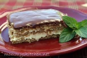 mommy s kitchen home cooking family friendly recipes easy no bake chocolate eclair cake