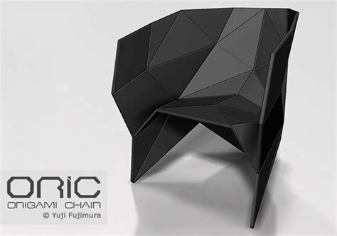 Origami Chair - oric origami chair en themag