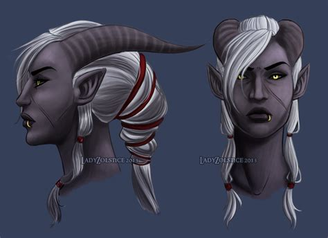qunari tattoo dragon age inquisition female qunari holy sh t dragon age pinterest dragon