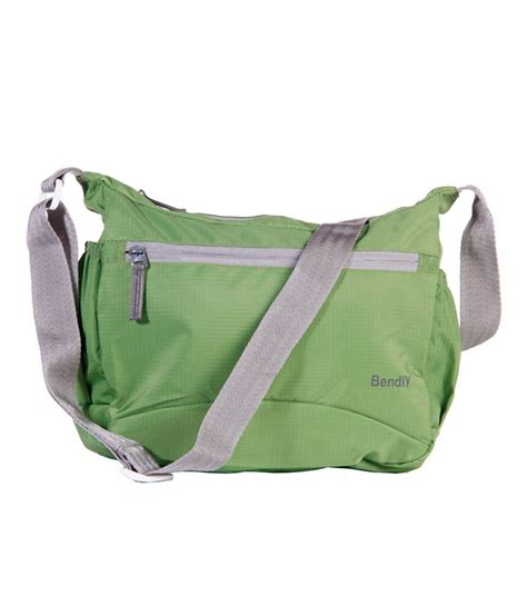 Zip Sling Bag bendly green zip sling bags buy bendly green zip sling