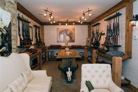 gun safe in living room 17 epic cave design ideas doorways magazine