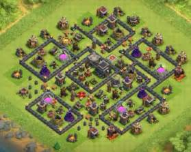 With bomb tower clash of clans town hall 9 hybrid base with bomb tower