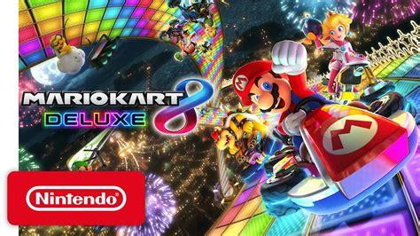 Nintendo Switch Gray Botw Mario Kart 8 Deluxe mario kart 8 deluxe nintendo switch presentation 2017 trailer