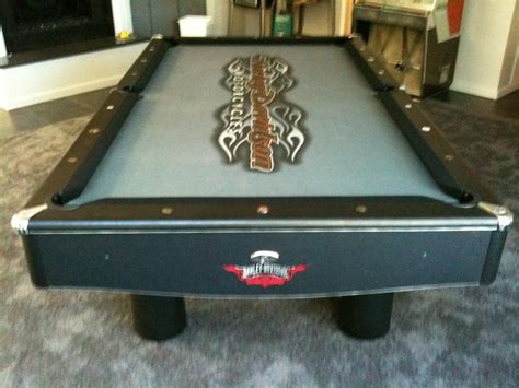 harley davidson felt from absolute billiard services in