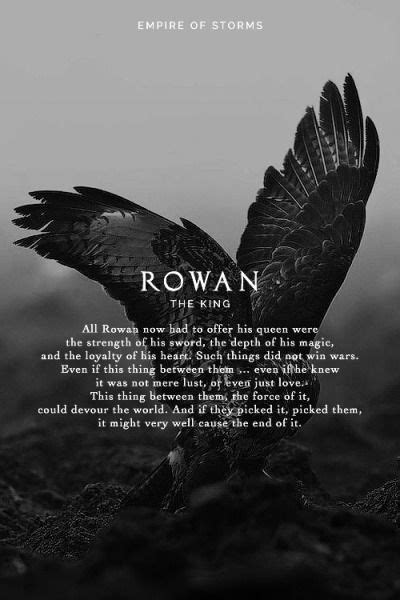 Empire of Storms - Rowan [Spoilers] | Throne of glass