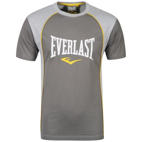 T Shirt Everlast White W3gj everlast mens 2 pack t shirts grey marl charcoal marl