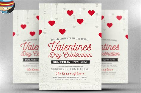 Rustic Valentine S Flyer Template Flyer Templates On Creative Market Rustic Flyer Template
