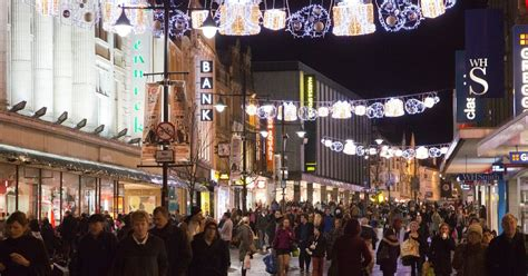as it happened newcastle christmas lights switch on