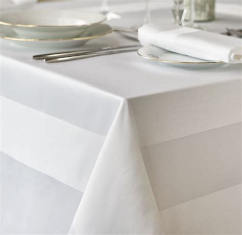 table linen uk cotton satin band tablecloth