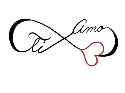 tattoo design ti amo by johnnyschick on deviantart