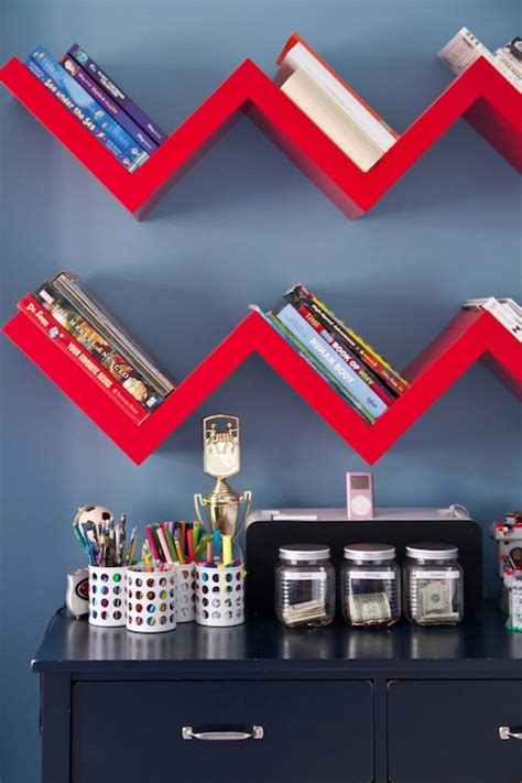 Boys Shelf by Zig Zag Shelf Boy S Room A S D Interiors