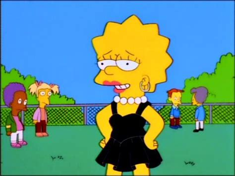 Simpsons Treehouse Of Horror All Episodes - image lisa in a black dress 2 jpg simpsons wiki fandom powered by wikia