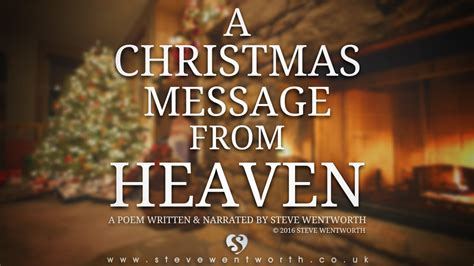 messages from heaven youtube a christmas message from heaven youtube