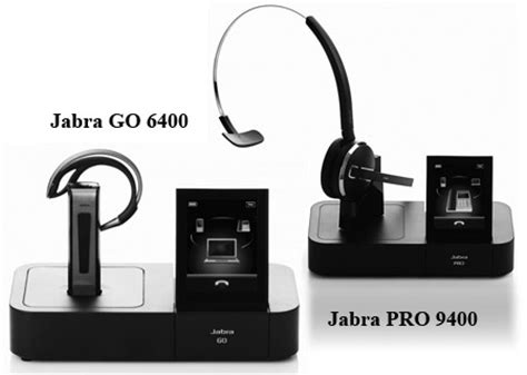 Jabra Cell Phone Station by Jabra Go 6400 Pro 9400 Headsets With Touchscreen Base