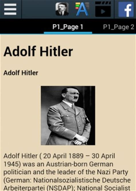 adolf hitler biography card download adolf hitler biography for android appszoom