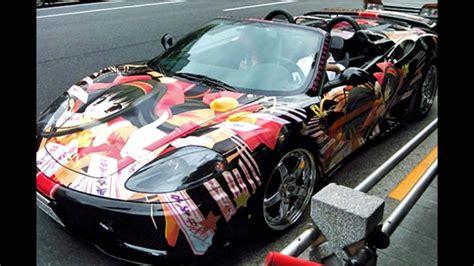 geile anime autos tuning cars anime style youtube