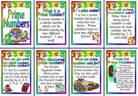 printable prime number poster free ks2 and ks3 maths teaching resources prime numbers