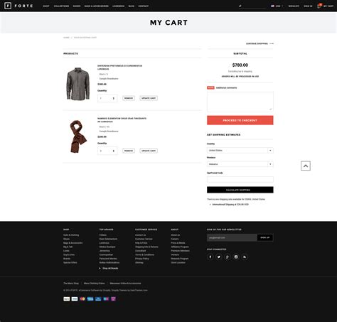 forte responsive shopify template halothemes com