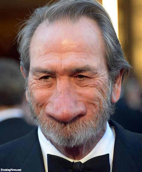 tommy lee jones with a giant nose pictures