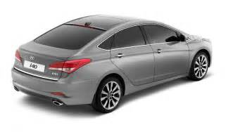 2012 hyundai i40 sedan made its official debut in barcelona