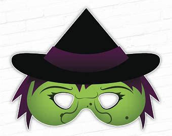 free printable halloween witch mask printable mask halloween mask sasquatch big foot monster