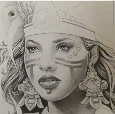 aztec princess tattoo designs best 20 aztec drawing ideas on