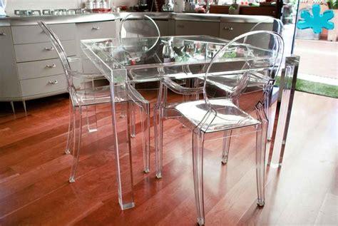 tavoli plexiglass prezzi tavoli da pranzo in plexiglass trasparente a 4 gambe