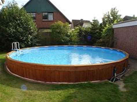 garten pool intex above ground pools wood search pool ideas