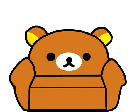 Custom Rillakuma walfas custom rilakkuma chair by akaichounokoe on deviantart