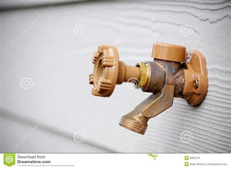 outside water spigot stock images image 8387674