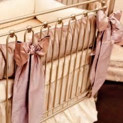 crib bows custom large silk crib bows set of 3 by crown