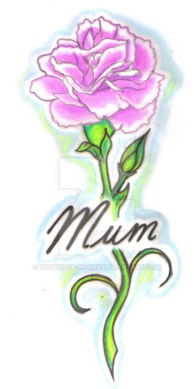 pink carnation tattoo design pink carnation by tattooed honey on deviantart