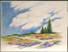colored pencil landscape color pencil sketches landscape www imgkid the