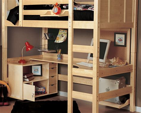 Loft Beds With Desk For Adults Size Loft Bed With Desk Loftbeddeals