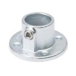 shop steeltek 1 1 4 in silver galvanized steel structural