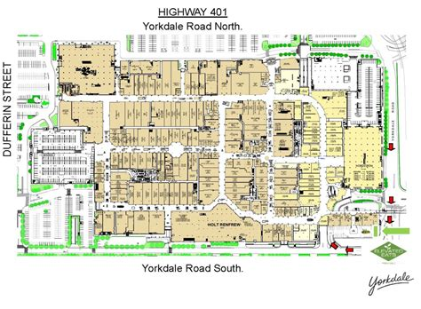 Yorkdale Mall Floor Plan by Yorkdale Mall Floor Plan What Yorkdale Looked Like In