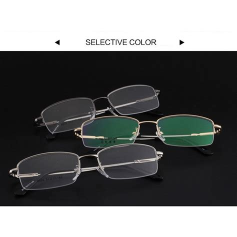 Kacamata Black kacamata lensa bening memory alloy frame black