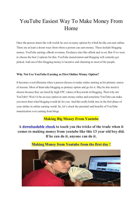 Make Money Online 13 Year Old - how to make money for 13 year olds not online howsto co