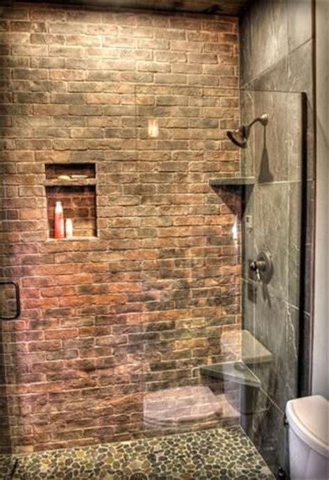 brick bathroom wall 1000 ideas about brick bathroom on pinterest brick veneer wall brick paneling and