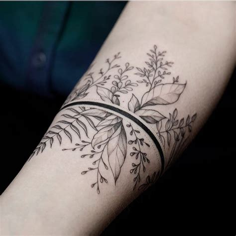 Tattoo Flower Band | tattoos org flower band tattoo artist equilattera