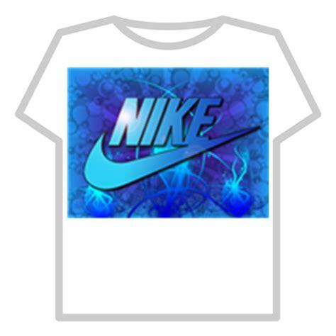 T Shirt Blue 6 0 Nike blue nike t shirt roblox