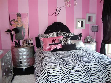 teenage pink bedroom ideas pink and black bedroom decorations ideas pink and black