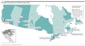map of major cities in canada savills uk canada s big cities