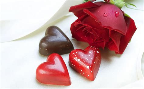 chocolate valentines chocolate hearts on s day february 14 wallpapers